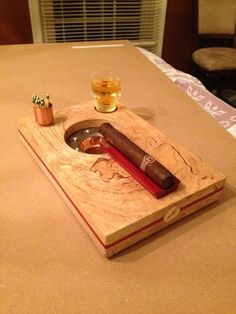Cigar Ashtray for one