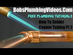 How to Cut Copper Pipe Amazing Tools) -- by Home Repair Tutor Copper Taps, Copper Tubing, Enzyme Cleaner, Drain Cleaner, Sewer Line Replacement, Drainage Pipe, Plumbing Companies, Low Water Pressure, Plumbing Emergency