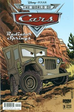 The World of Cars: Radiator Springs (2009 series) #2. Condition: NM. Cover A. | eBay!