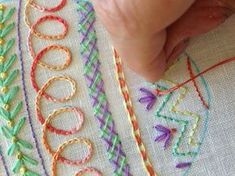 LOOK AT THESE EMBROIDERY STITCHES!! jwt from gallery.ru watch?ph=74xfpOc6&subpanel=zoom&zoom=8. jwt