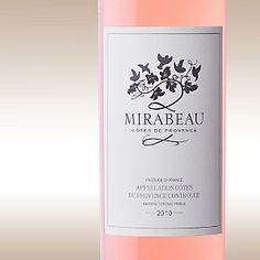 Waitrose, Mirabeau Rosé - best of Provençale rosé wine available from Waitrose in the UK