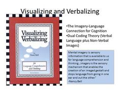 Visualizing and Verbalizing The Imagery-Language Connection for Cognition Dual Coding Theory (Verbal Language plus Non-Verbal Images) Mental imagery is.