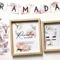 Ramadan Decor Set Bunting Ramadan calendar Ramadan Tags   Etsy Ramadan Decorations, A4 Paper, Personalized Tags, Bunting, Peony, Holi, Calendar, Colours, Frame