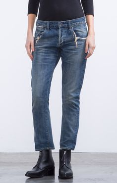 great length! Emerson Slim Fit Boyfriend in Junction - Denim - CITIZENS of HUMANITY