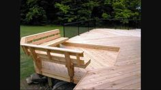Built in Deck Bench Plans Bench with back support Accessories Photo Gallery Archadeck of