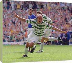 Henrik Larsson Canvas Print, Henrik Larsson, Legends c/o Celtic FC Prints