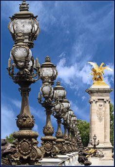 Pont Alexandre III Paris, France