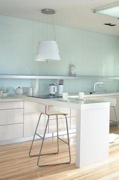 kuchnia inaczej Kitchen Colors, Kitchen Design, Sewing, Google, Table, Furniture, Ideas, Home Decor, Homemade Home Decor