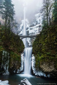 Multnomah fall's Columbia Gorge, Oregon