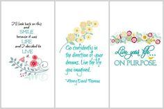 Inspirational Printables | On Sutton Place