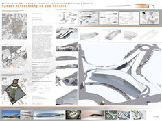 Architectural design project. Bus terminal by perception-distorted