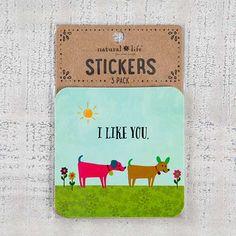 I Like You Sticker Sets