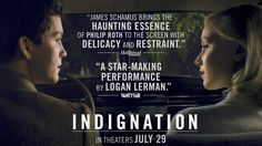INDIGNATION starring Logan Lerman & Sarah Gadon | Official Trailer | In select theaters July 29, 2016