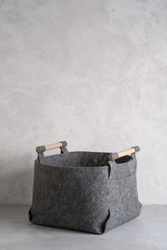 Depiction of Felt Storage Bin Ideas