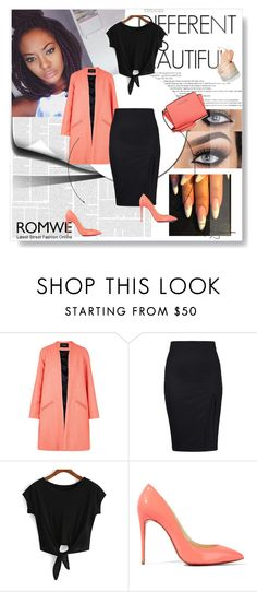 """""""Kami"""" by mgtswag-101 on Polyvore featuring Paper London, Christian Louboutin and Michael Kors"""