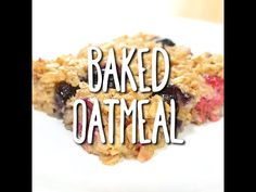 Baked Oatmeal Want to eat healthier but don't want to break the bank? Oatmeal is a great way to get both of these worlds to collide. It's very delicious and perfect for a quick morning breakfast!