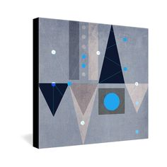Viviana Gonzalez Geometric Abstract 5 Gallery Wrapped Canvas | DENY Designs Home Accessories