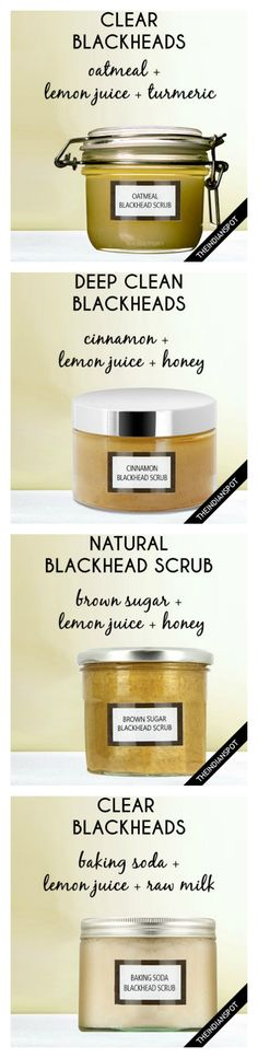 5 Best Homemade Blackhead Remover Scrubs Every girl wants smooth clear skin but little monsters like acne, blackheads and other breakouts do. Belleza Diy, Tips Belleza, Diy Skin Care, Skin Care Tips, Skin Tips, Organic Skin Care, Natural Skin Care, Organic Makeup, Organic Beauty