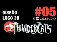3ds Max 2012 Diseño Logo Thundercats Parte 05