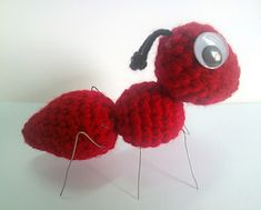 Ravelry: Amigurumi Ant pattern by Erin Huynh