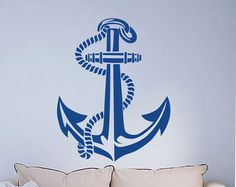 Compass Rose Wall Decal Art Decor Sticker by VinylWallArtworks