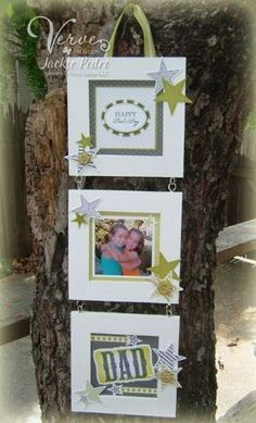 Altered frame photo hang by mitzi