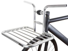 The beautifully finished chrome front rack is now available on its own. Bicycle Tools, Urban Bike, Cargo Bike, Brick Lane, Touring Bike, Bicycle Components, Bike Parts, Bike Accessories, Bike Design