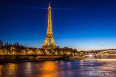 Tour Eiffel by night by Frédéric MONIN on 500px