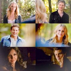 The Vampire Diaries being reunited with The Originals - Caroline and Klaus, Matt and Rebekah, Katherine and Elijah