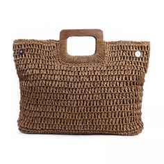 Bag In Bag, Straw Tote, Straw Beach Bags, Types Of Bag, Cheap Bags, Shopper, Vintage Bohemian, Bohemian Style, Cute Bags