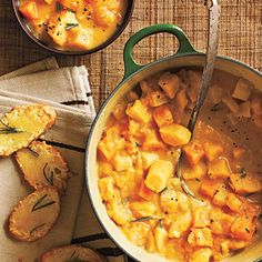 Creamy Root Vegetable Stew with Gruyere Crostini < Creamy Soup Recipes - Cooking Light Mobile
