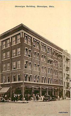 Okmulgee Oklahoma Okmulgee Building 7511 Postcard | eBay
