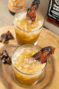 Smoky Whiskey Mule: Bacon, brown sugar and Cajun seasoning give a whiskey mule an extra savory-sweet kick.