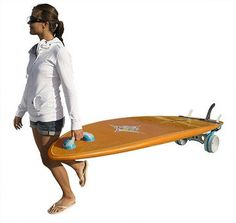 Make life easier with the Sea2Summit  Cross Terrain SUP cart.