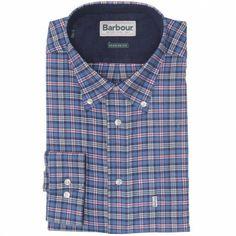Barbour Mens Bisley Shirt Blue Check £59.95