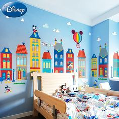 Mickey Mouse wall decal for kid's room