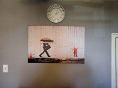 Poster Banksy Peace Room Art Wall Cloth Print 539