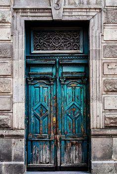 Puebla puerta