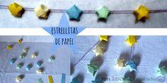 Estrella de papel (Origami)