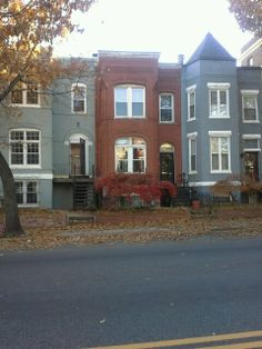 Row houses D.C. fall