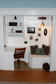 Really want a standard reading nook...but my own personal space would be great too!  http://www.houzz.com/reading-nook/p/40