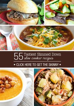 55 Healthy Crock Pot meals.