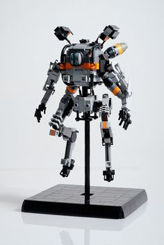 There's a lot to love about Titanfall but one of the best things is the design of the game's mechs. And while we wait for expensive action figures to hit, we can pass the time with these awesome LEGO models built by Marius Herrmann.