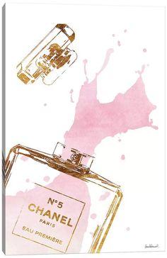 Chanel Wall Art, Canvas Prints & Paintings   iCanvas Chanel Wall Art, Chanel Canvas, Chanel Decor, Pink Perfume, Perfume Bottles, Chanel Perfume, Canvas Artwork, Canvas Art Prints, Ysl