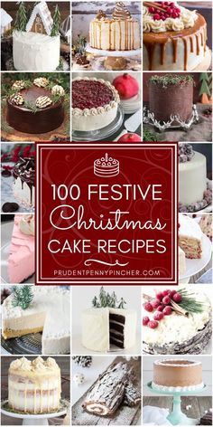 100 Festive Christmas Cakes Wow your Christmas dinner guests with these beautiful and delicious Christmas cakes These Christmas desserts feature gingerbread eggnog pepper. Smores Dessert, Holiday Baking, Christmas Baking, Holiday Treats, Holiday Recipes, Christmas Dessert Recipes, Christmas Deserts, Christmas Cakes, Christmas Holidays