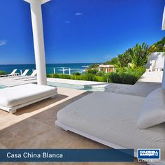 Casa China Blanca | For Rent  China Blanca is a 45 minutes drive from Puerto Vallarta International Airport.  A new villa already known for its elegant modern design. Overlooking the Pacific's beautiful Banderas Bay, it is the perfect setting for either intimate gatherings with family and friends, or memorable events, such as weddings and corporate retreats.  Contact Angeles Fuentes angeles@cblacosta.com for more information  ‪#‎Villas‬ ‪#‎PuertoVallarta‬ ‪#‎Rentals‬ ‪#‎ColdwellBanker‬