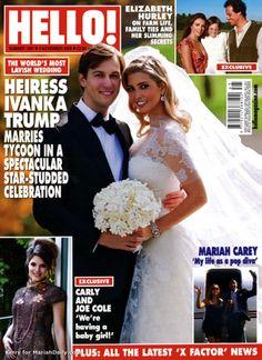 Ivanka Trump wedding day