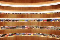 Library at the Institute of Law l Zurich 2013