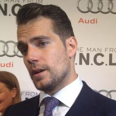 VIDEO:#HenryCavill initially channeled Cary Grant for his #ManFromUNCLE accent!