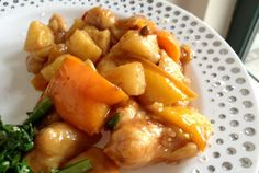 Passover Sweet and Sour Chicken.